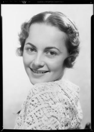Olivia de Havilland, 'Hermia', California Festival Association, Southern California, 1934