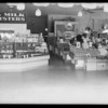 Billie Bird Market, West Main Street and Cedar Street, Alhambra, CA, 1933