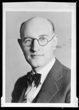 Portraits, Walther League Convention, Southern California, 1932