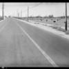 Scene of accident near Montebello, A.G. Warren assured, Southern California, 1933
