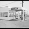Service stations, Southern California, 1935