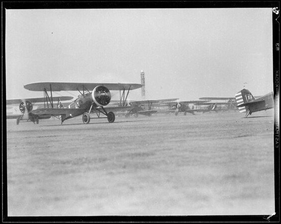 Miscellaneous, National Air Races, Southern California, 1933