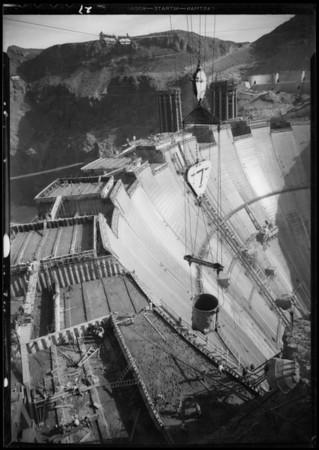 Boulder Dam [Hoover Dam], Nevada, 1934