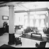Interiors, Barclay Hotel, West 4th Street & South Main Street, Los Angeles, CA, 1932
