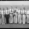 General Electric salesmen, Broadway Department Store, Los Angeles, CA, 1931
