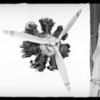 Diesel aeroplane motor, Southern California, 1931