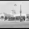 New station at East Florence Avenue and Pacific Boulevard, Huntington Park, CA, 1934