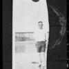 Charles D. Burris, Carpinteria, CA, 1933