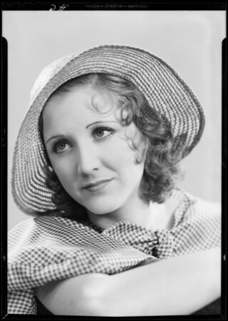 Portrait of Edeth May, Southern California, 1933