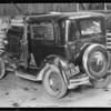 1932 Ford sedan - central garage, Southern California, 1933