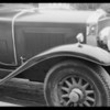 La Salle sedan, Mr. Lipton, owner, Southern California, 1931