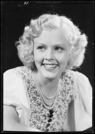 Portrait of Jean Stoddard, Southern California, 1933