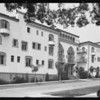 Apartments, hotels, etc., Southern California, 1931