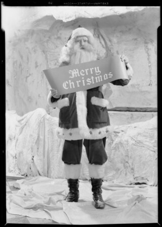 Santa Claus, Los Angeles, CA, 1931