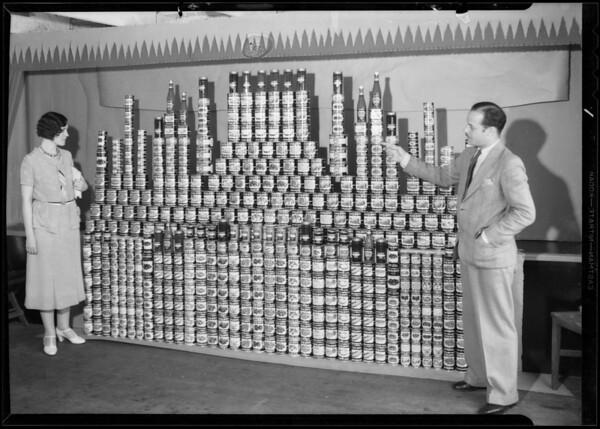 Black and White radio prize, Southern California, 1931