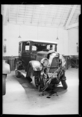 Packard sedan, Miles W. Blaine, owner, case #795495, Southern California, 1932