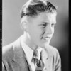 Boy's heads for high school ad, Southern California, 1931