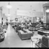 Interior of store, main floor, 50 years sale, May Co., Southern California, 1931