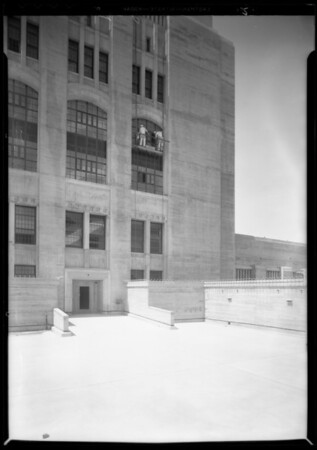 County Hospital, D. Zelinshky & Son, Los Angeles, CA, 1932