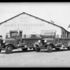 United States Forest Service trucks, Los Angeles, CA, 1932