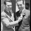 Harold Lloyd and Cliff Henderson, Southern California, 1933