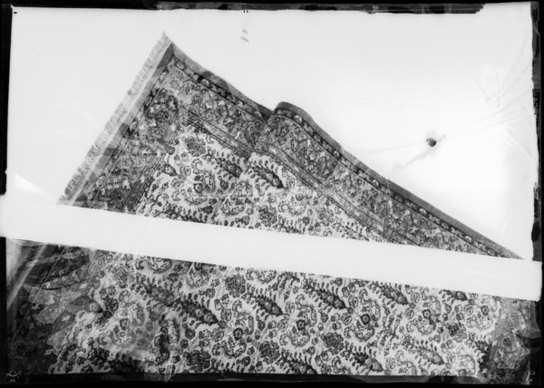 Rugs, Southern California, 1931