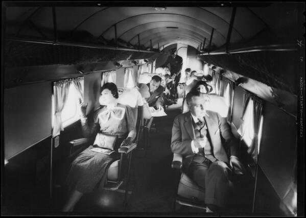 Interior of Douglas Transport, Southern California, 1933