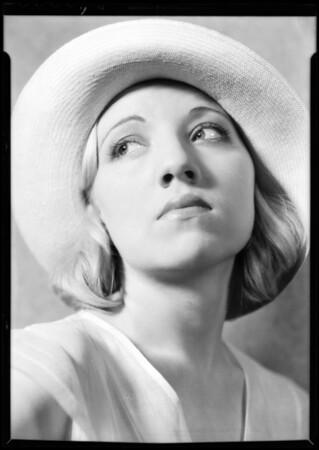 Miss Evanova, Southern California, 1932