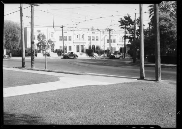 Ralph Burdick, cripple with dog, Southern California, 1933 [image]