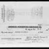 Copy of checks, American Automobile Insurance Co., Southern California, 1931