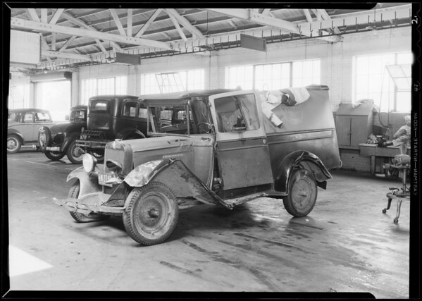 Chevrolet truck - Wasserman, owner, 4th Street & South La Brea Avenue, Los Angeles, CA, 1933