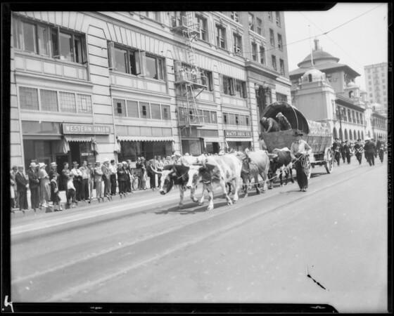 Parade, National Air Races, Los Angeles, CA, 1933