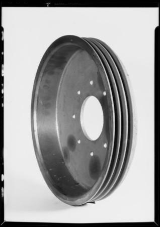 Brake drum, Southern California, 1932