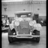 Lincoln sedan, Laykin assured, Southern California, 1932