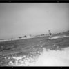 Outboard motoring at Alamitos Bay, Long Beach, CA, 1932
