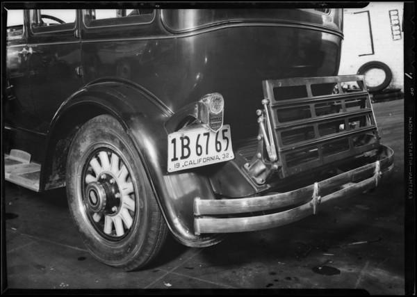 Graham-Paige sedan, order #511843, Southern California, 1932