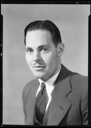 Portraits, Mr. Powell's office, Southern California, 1932