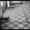 Floor & ramp to exit in Thrifty drug store at North Western Avenue and Santa Monica Boulevard where a woman fell, Los Angeles, CA, 1935
