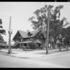 Exterior views of mortuary parlors, Southern California, 1932