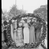 Pansy ceremony Tri Delta sorority, Southern California, 1933