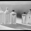 Bottles of hair tonics, Southern California, 1931
