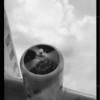 Airplane motor shots, Southern California, 1935