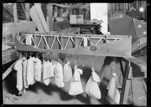 Stress tests for Department of Commerce, Southern California, 1931