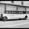 Arroyo Grande High School bus, Southern California, 1931