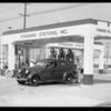 Vis-O-Matic slides, Southern California, 1935
