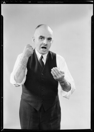 Mr. King in shirt sleeves, Southern California, 1932