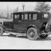 Buick sedan, Mrs. J. B. Shackelford, owner, Southern California, 1933