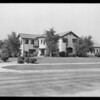 Homes and signs in San Marino, CA, 1931