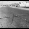 Intersection of Ventura Boulevard and Gwynn Street, also Pontiac damaged, File #5600, Employers Casualty Co., Southern California, 1933