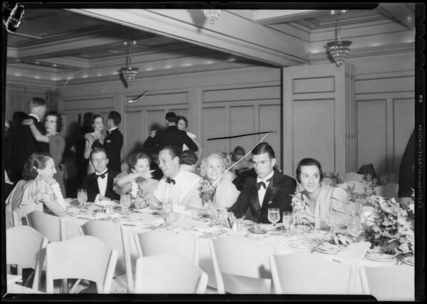 Senior ball, Southern California, 1933